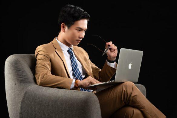 ảnh doanh nhân tài chính