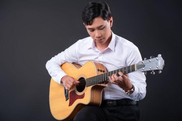 ảnh nghệ sĩ guitar
